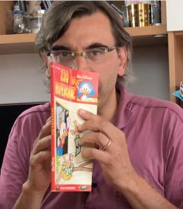 Alfonso Zoleo e l'odore di fumetto